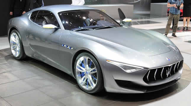 Experience a Maserati model with us