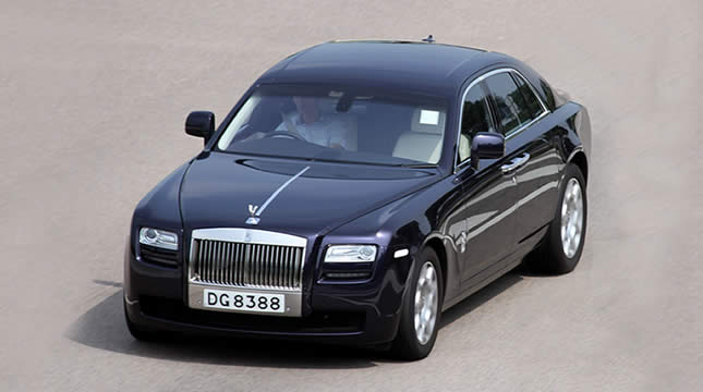 Features of the luxury Rolls-Royce Ghost you may not know