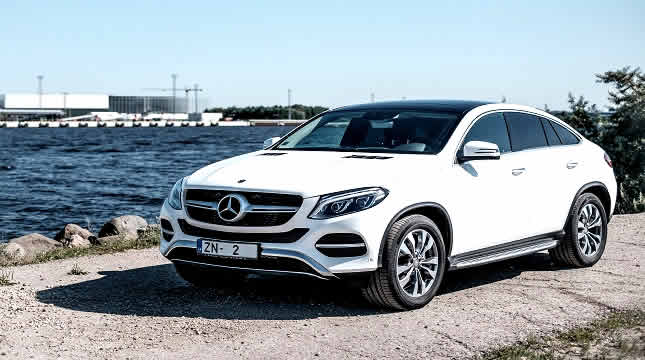 Drive safely with a Mercedes GLE