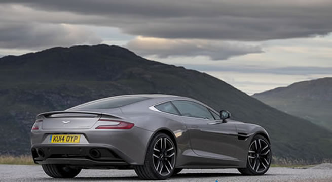 Captivating Discover Barcelona By Driving An Aston Martin Vanquish