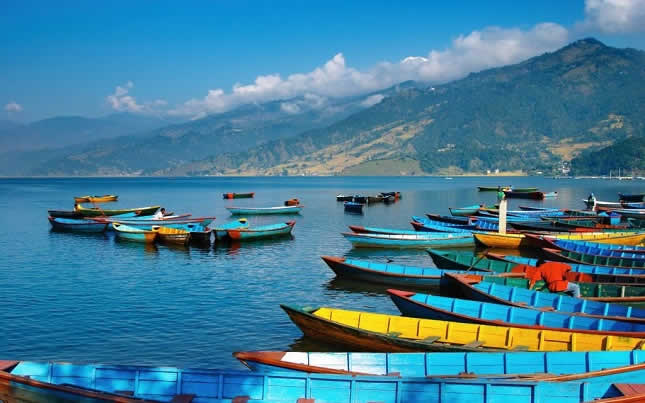 visit pokhara where you can find plenty of free things to do and see there are some good hostels at reasonable prices to eat and