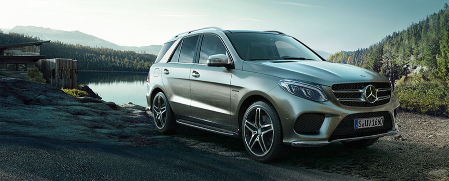 Mercedes GLE rental in Europe