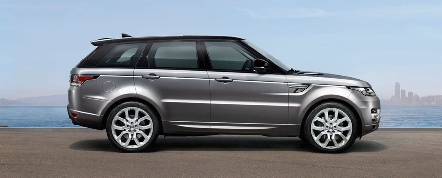 Range Rover Sport rental in Europe
