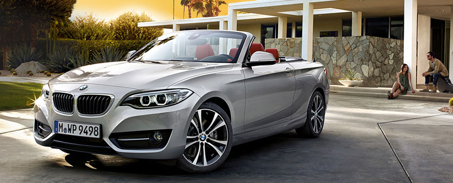Rent BMW Serie 2 Cabriolet