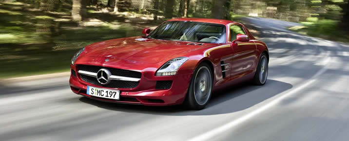 Attractive Mercedes SLS AMG Rental In Europe