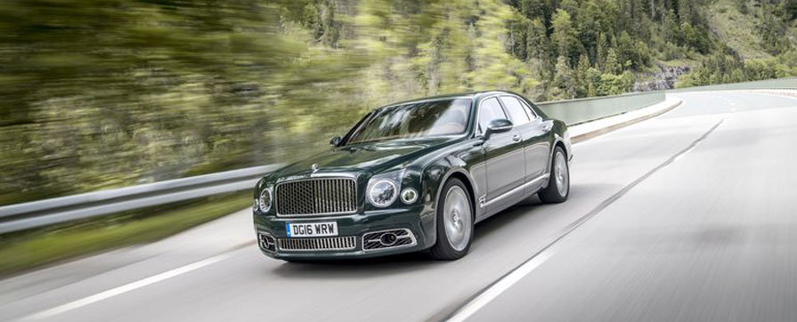 Rent an elegant Bentley Mulsanne