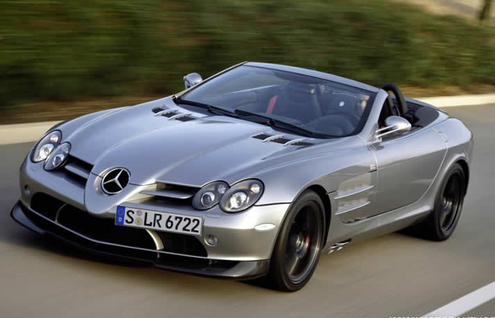 Rent Mercedes Benz Slr Mclaren Roadster