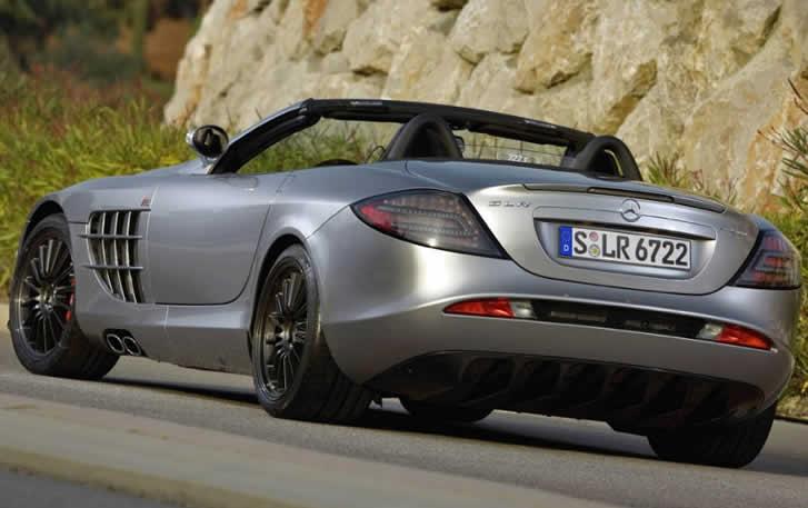Rent Mercedes-Benz SLR McLaren Roadster
