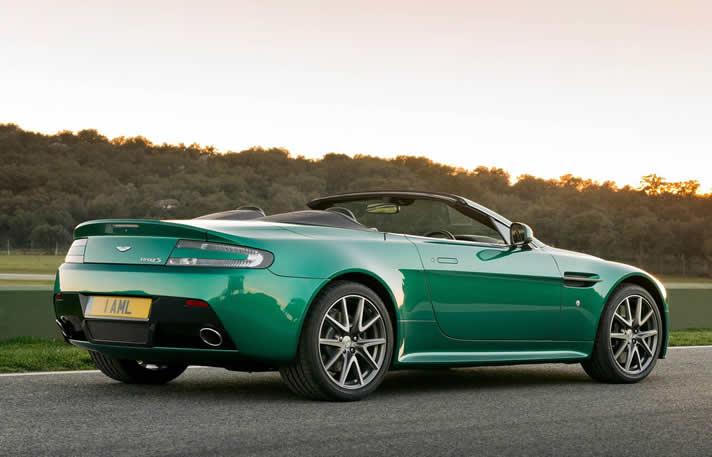 Rent Aston Martin V8 Cabriolet