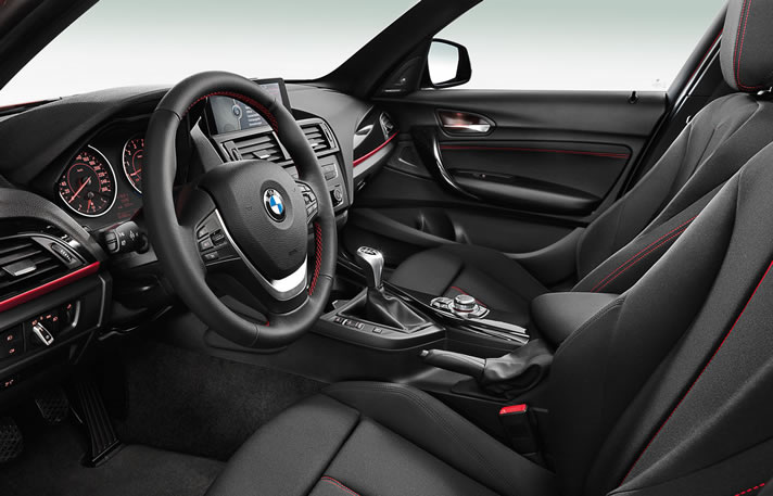 BMW 1 series inside