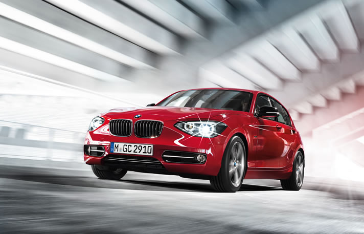 BMW 1 series rental