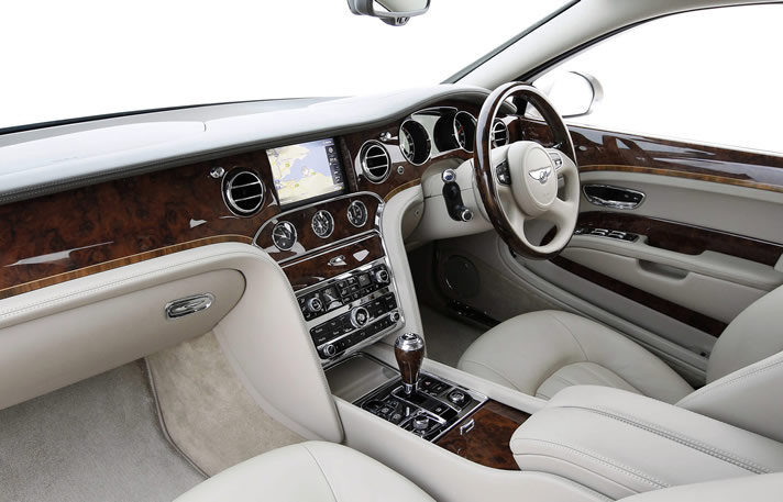 Bentley Mulsanne inside