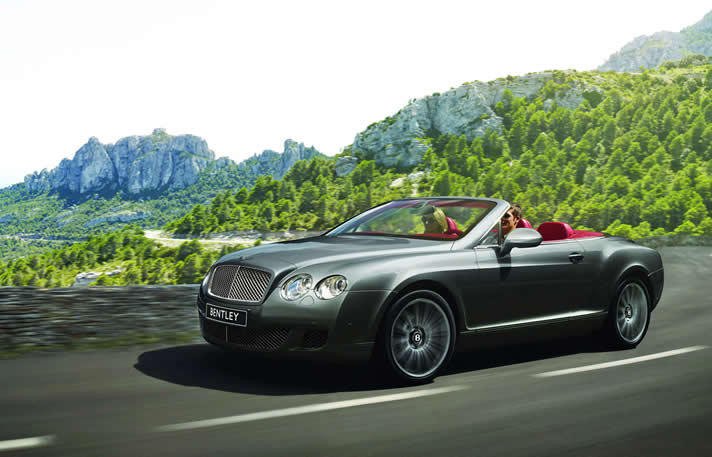 Bentley GTC rental