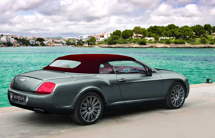 Bentley GTC hire