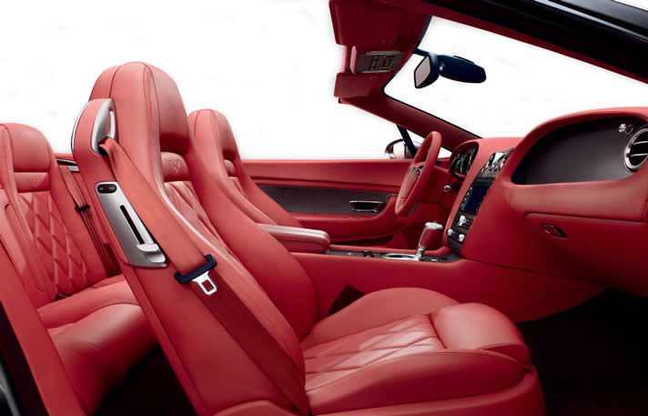 Bentley GTC inside