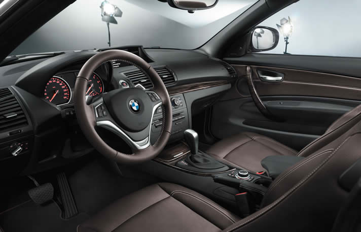 BMW 120 Cab inside