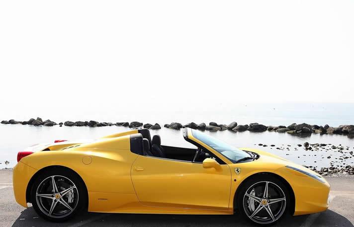 Rent Ferrari 458 Spider