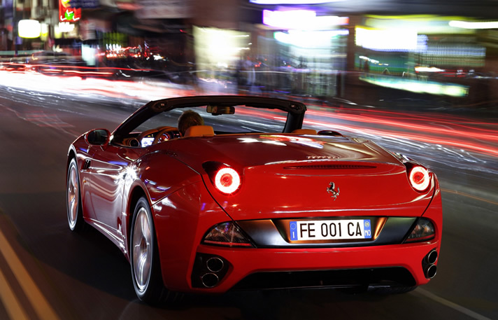 Rent Ferrari California Cabriolet