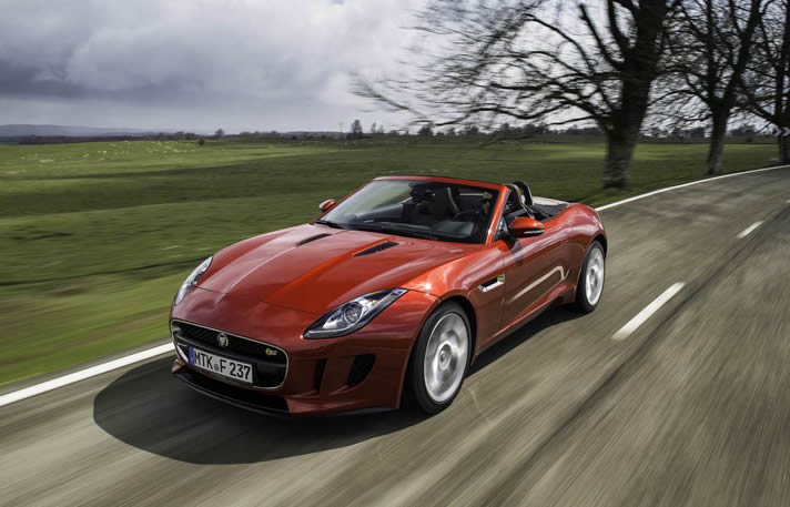 Jaguar F Type S Rental