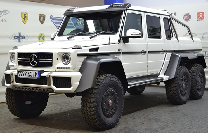 Mercedes G65 amg 6x6   Germany