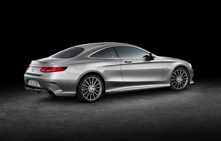 Mercedes S-Class Coupe hire