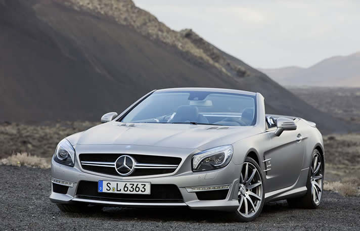 MERCEDES SL63 AMG   United Kingdom