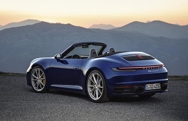 Convertible Porsche 911