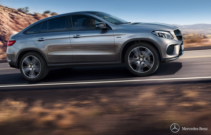 Rent Mercedes Gle Coupe
