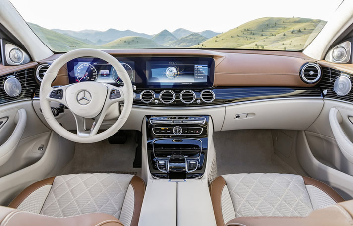 Mercedes Classe E sedan interior